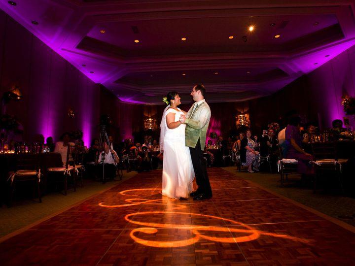 Tmx 1436377182618 Purple Up Lighting With Gobo 1 Cordova, TN wedding dj