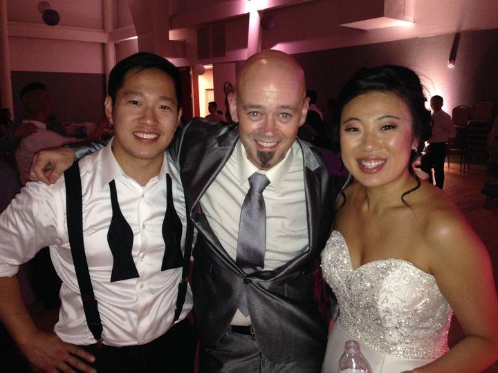 Tmx 1436377233334 Jimmy With Connie And Michael Lam 7.4.15 Cordova, TN wedding dj