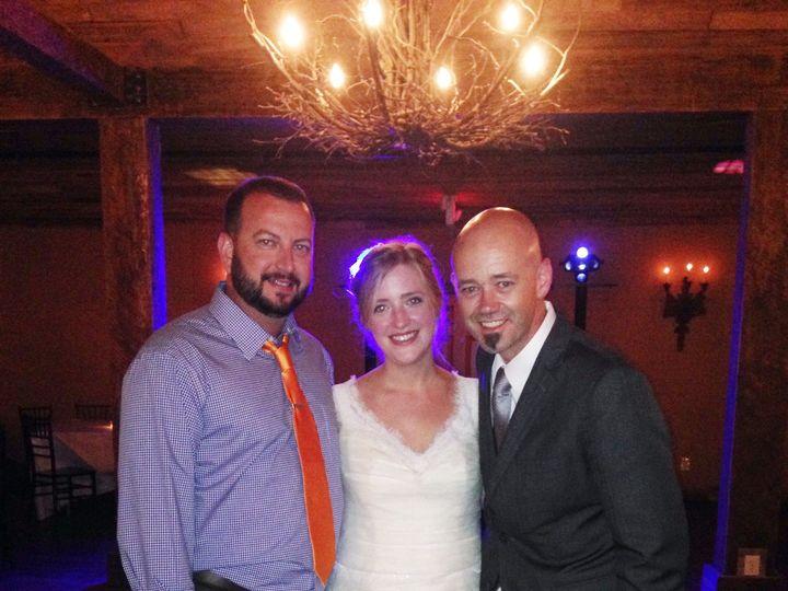 Tmx 1436377269864 Jimmy Harris With Tricia And Bill Freese June 13 2 Cordova, TN wedding dj