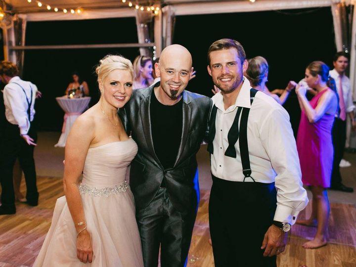 Tmx 1449694084216 Jimmy With Brigitte And Jeff Hammond Cordova, TN wedding dj