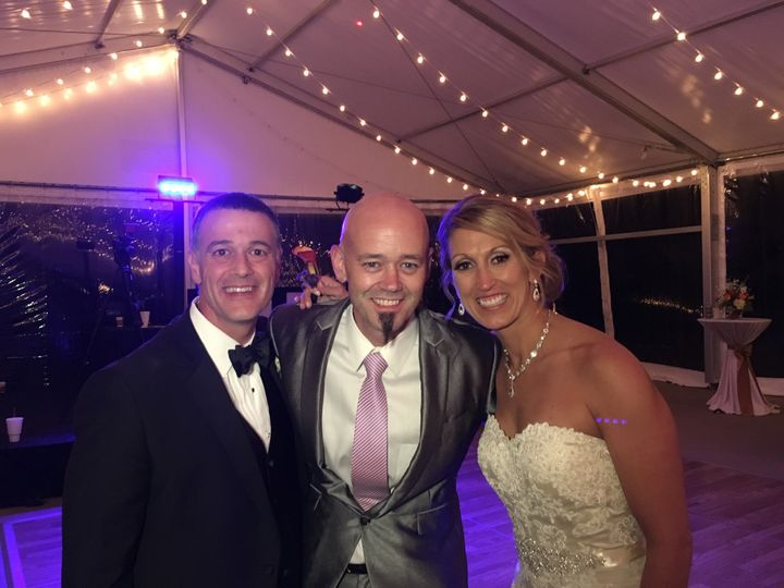 Tmx 1449694129501 Jimmy With Sarah And Jeremiah Deneve 10.30.15 Cordova, TN wedding dj