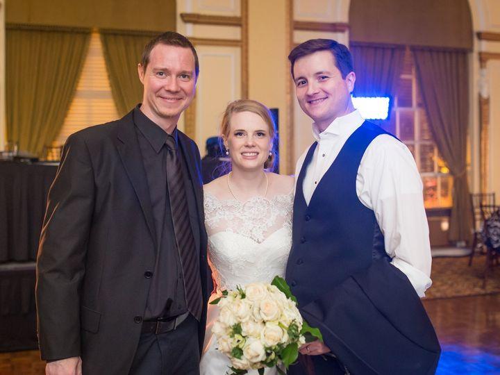 Tmx 1449694160382 Jonathan With Catherine And Kevin Sanders 11.14.15 Cordova, TN wedding dj
