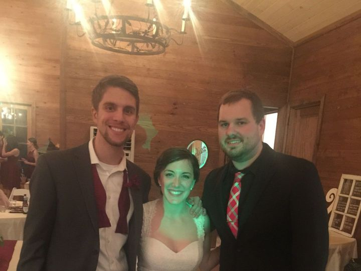 Tmx 1525324812 Ddb787a5a335cb20 1449693995452 Blake With Morgan And Doug Wulsin 11.21.15 Cordova, TN wedding dj