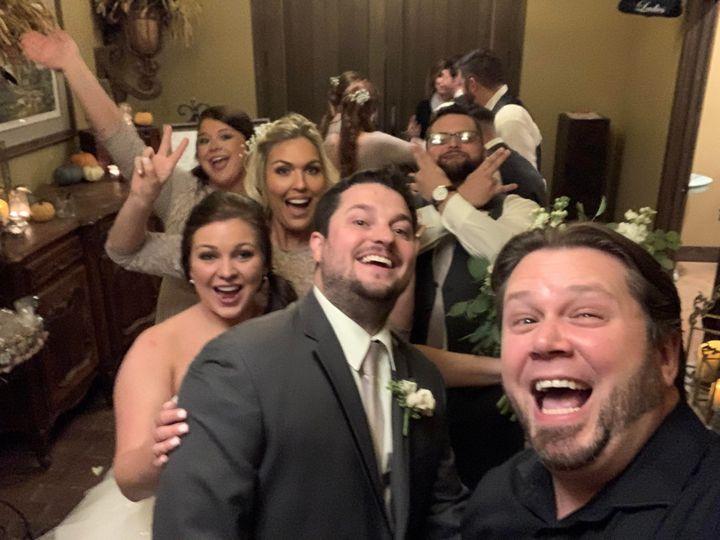 Tmx Dj Justin Jaggers With Amber Preston Haycraft Friends At Cedar Hall 11 16 19 Weddingdjmemphis Memphisweddings Deepbluentertainment 51 89991 157409849752051 Cordova, TN wedding dj