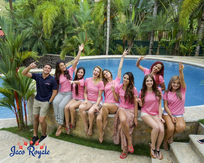 After a fantabulous vacation in Costa Rica with Jaco Royale, our guests strike a pose with Bryan...