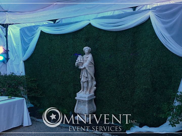 Tmx Boxwood Wall 51 420002 Easton, Pennsylvania wedding eventproduction