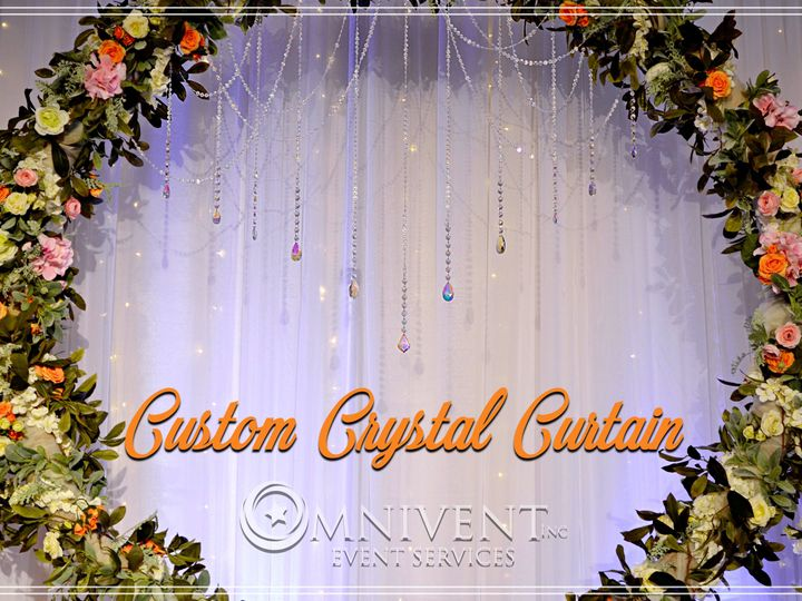 Tmx Custom Crystal Curtains 51 420002 Easton, Pennsylvania wedding eventproduction