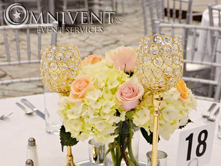 Tmx Gold Crystal Votive Holders 51 420002 Easton, Pennsylvania wedding eventproduction