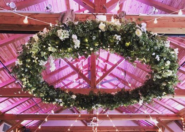 Tmx White Floral Hoop 51 420002 161832881335539 Easton, PA wedding eventproduction