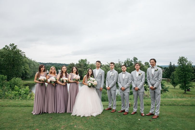 Bridal Party Florals by NYG