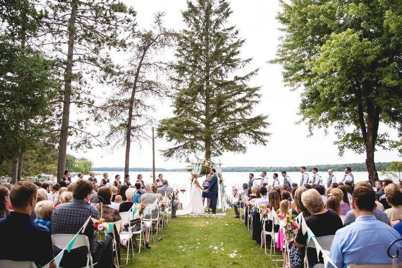Manhattan outdoor wedding