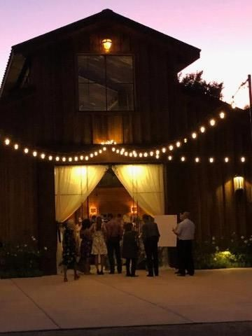 Night time at the barn