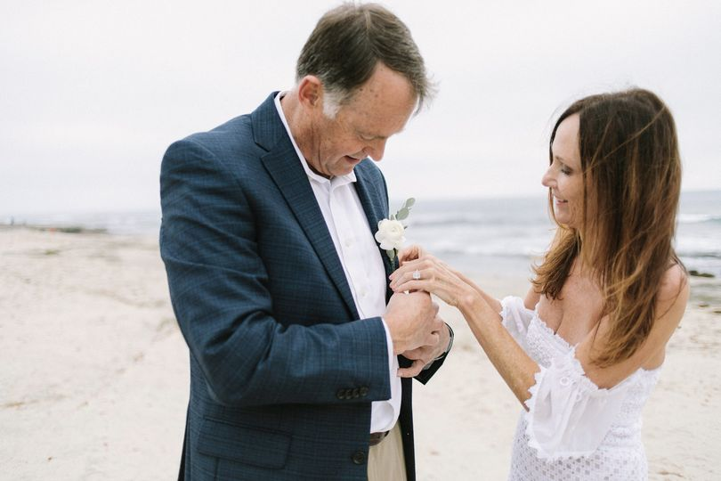 La Jolla Bride and Groom