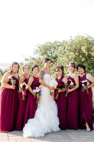 Brides & bridesmaids bouquet