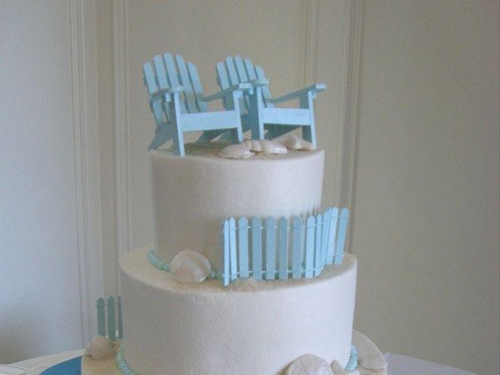 Tmx 1416344602653 Adirondack Pool 1 Destin, FL wedding cake