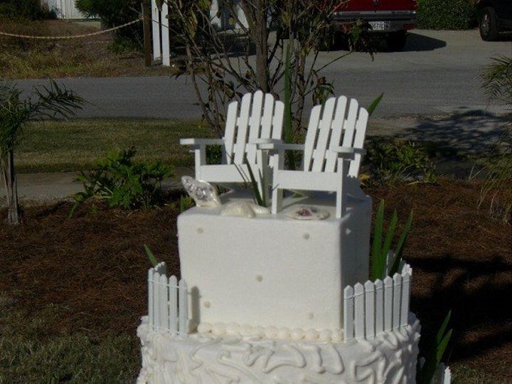 Tmx 1416344612157 Adirondack Chairs 2 Destin, FL wedding cake