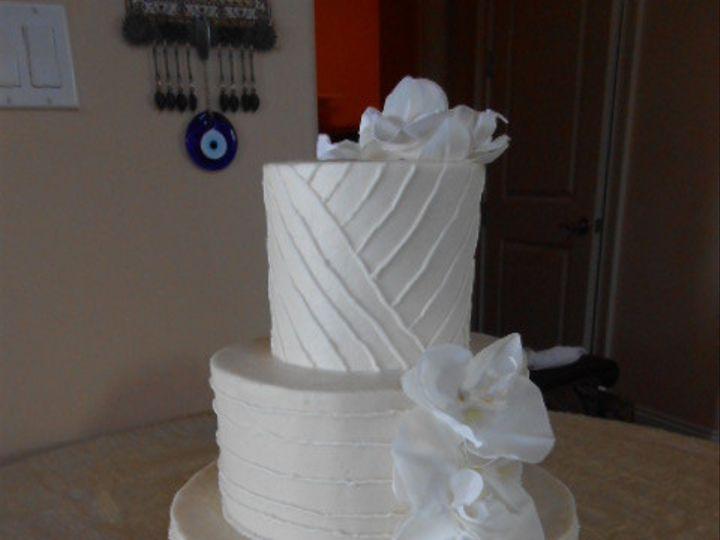 Tmx 1416347640333 Orchid Splendor Destin, FL wedding cake