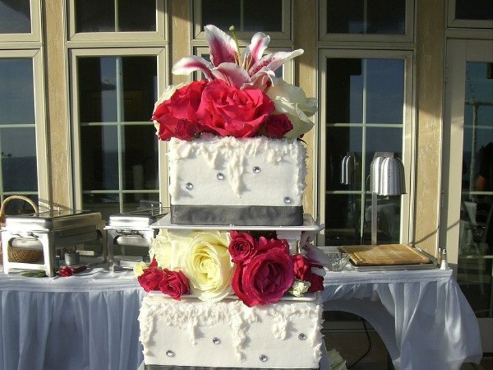 Tmx 1416347669358 Crystal Galore Sand 1 Destin, FL wedding cake