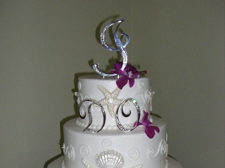 Tmx 1416347680743 I Do At The Beach Destin, FL wedding cake