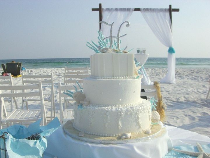 Tmx 1416347687466 Kendras Beachside Destin, FL wedding cake