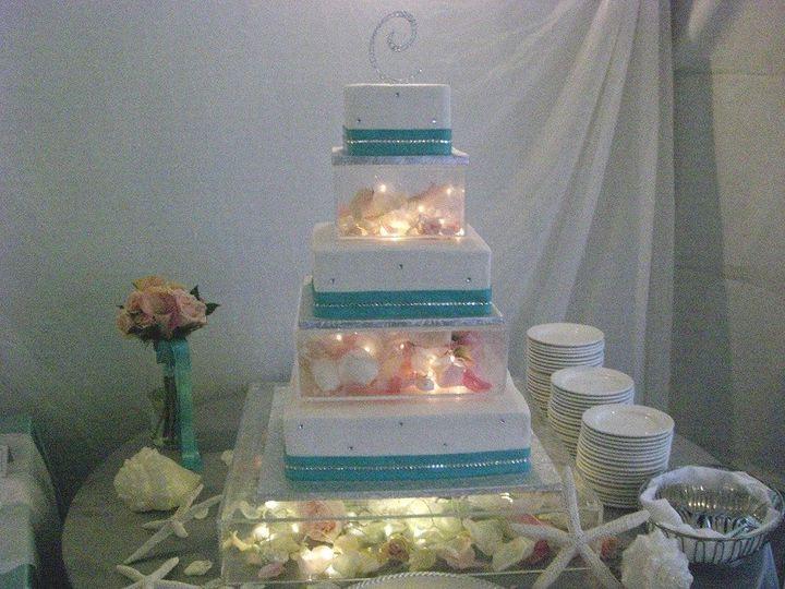 Tmx 1416348719582 Lucite Brillance Tiffany Fisher 1 Destin, FL wedding cake