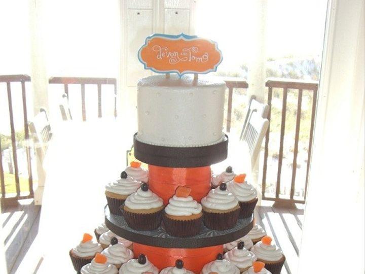 Tmx 1416349094582 Cup Cakes Devons Fantasy Iii Destin, FL wedding cake