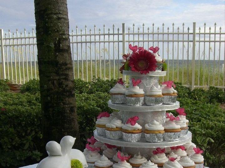 Tmx 1416349101675 Cupcake Doves 2 Destin, FL wedding cake
