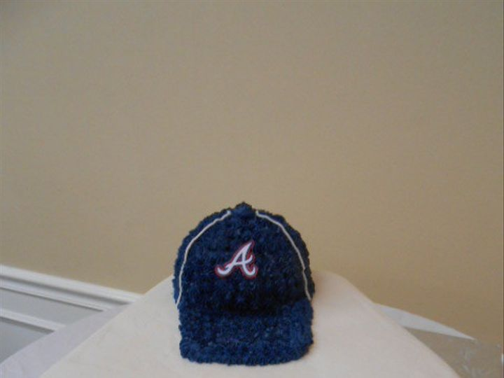Tmx 1416349695284 Baseball Hat Cake 1 Destin, FL wedding cake