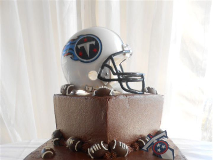 Tmx 1416350341694 Tennesse Football Cake 1 Destin, FL wedding cake