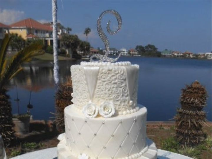 Tmx 1416350352100 Dscn1216 Destin, FL wedding cake
