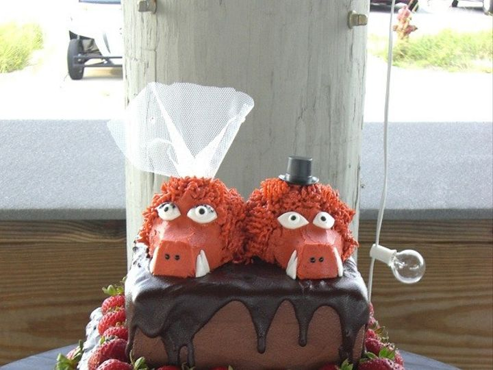 Tmx 1416351230394 Arkansas Razorback Cake 1 Destin, FL wedding cake