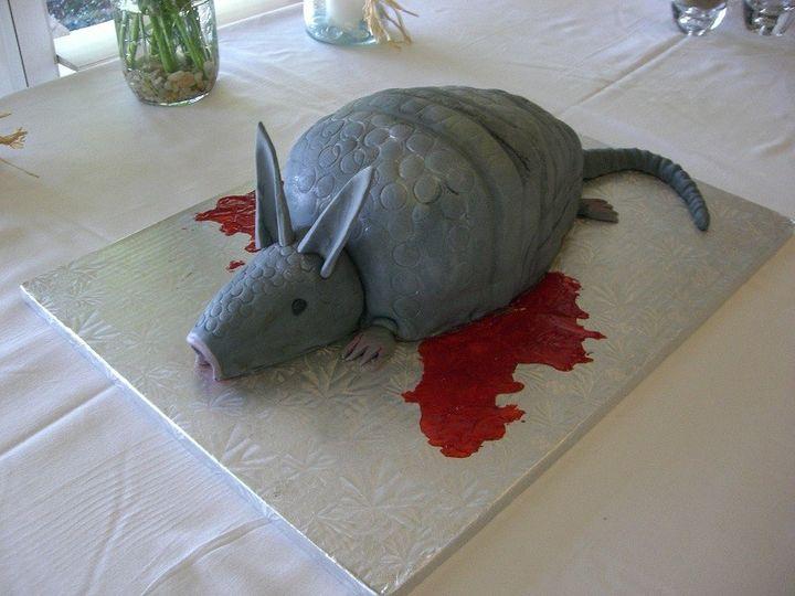 Tmx 1416351233059 Armidilo Road Kill 1.2 Destin, FL wedding cake