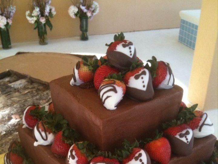 Tmx 1416351255543 Chocolate Tux Berries 1 Destin, FL wedding cake