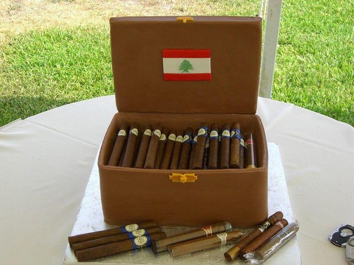 Tmx 1416351259717 Cigar Box Destin, FL wedding cake