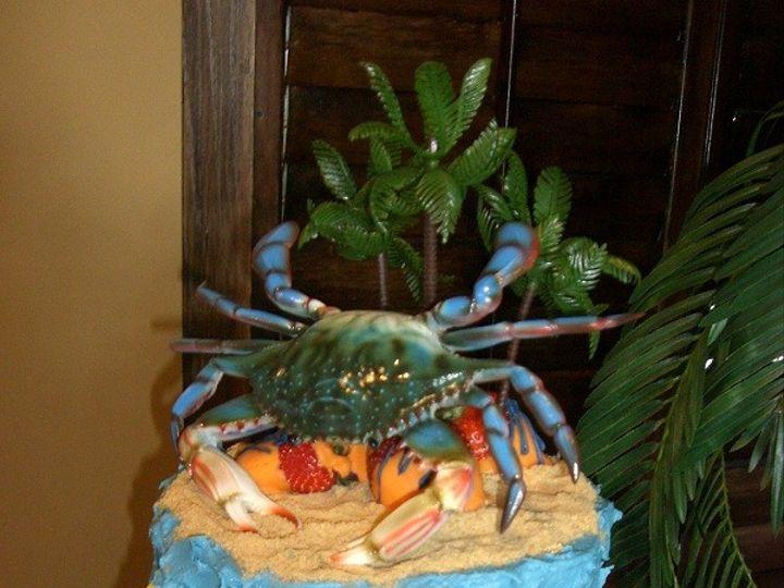 Tmx 1416351262923 Crab Island Cake Destin, FL wedding cake