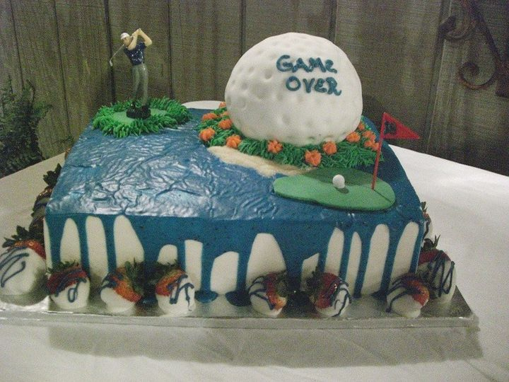 Tmx 1416351265774 Golf Cake 1 Destin, FL wedding cake