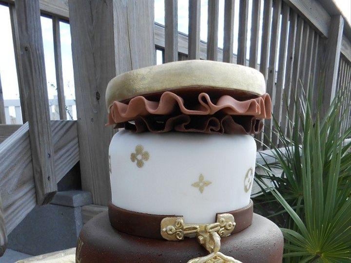Tmx 1416351280954 Louis Vuitton 2 Destin, FL wedding cake