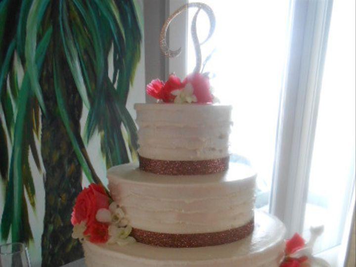 Tmx 1440033386517 Circular Splendor Rustic With Love Is Sweet Cake P Destin, FL wedding cake
