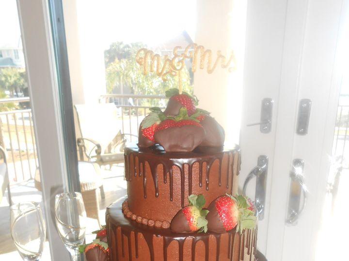 Tmx 1458510643125 Chocolate  Berry Overdose Nichole  Jacabs Decadenc Destin, FL wedding cake