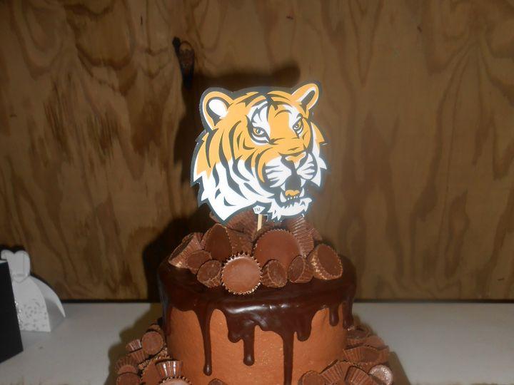 Tmx 1458601939329 Lsu Reeses Cup Overdose Mikes Dream Destin, FL wedding cake