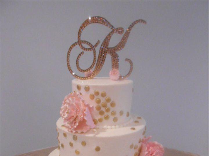 Tmx 1459362027444 Gold Dots Destin, FL wedding cake