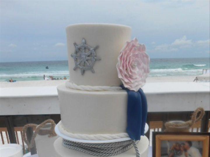Tmx 1459362125736 Anchors Away Destin, FL wedding cake