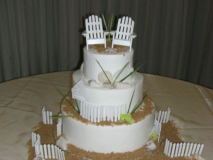 Tmx 1532985835 37896d8997b9bbce 1532985834 81566ceb52ed0acf 1532985835753 7 Adirondack Chairs  Destin, FL wedding cake