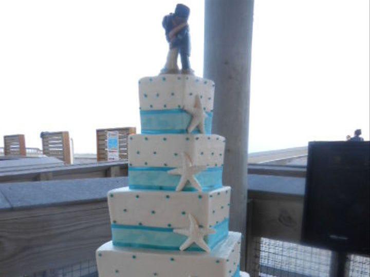 Tmx 1532986066 A16401141c2378a5 1532986065 9af1601c99cad2d0 1532986067405 8 Starfish 4 Tier Sq Destin, FL wedding cake