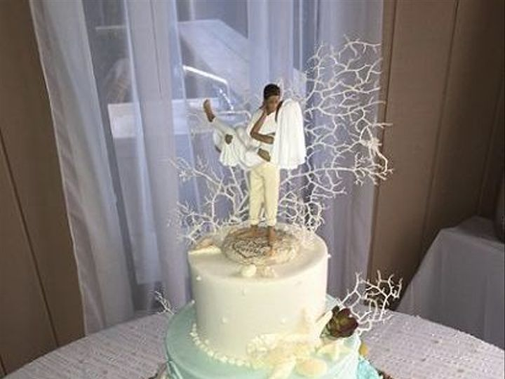 Tmx 1532989125 D68e4833030843ff 1532985593 0cc63d87d402cd19 1532985592 7489d1701a4a602a 153298 Destin, FL wedding cake