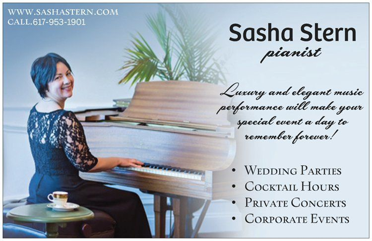 Sasha Stern Piano Post Card