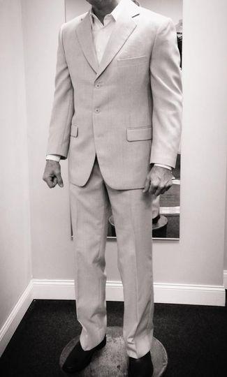 Custom suit & shirt