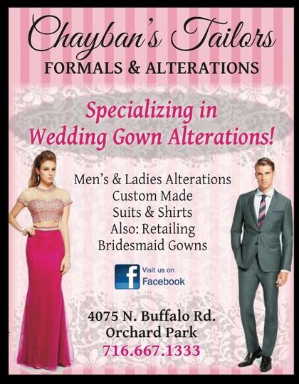 Chaybans Tailors Formals & Alterations - Dress & Attire - Orchard ...