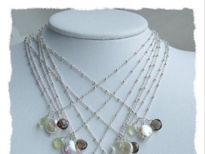 Tmx 1274551680370 CoinPearlPrehniteSmokyQuartzNecklace1 Rochester wedding jewelry