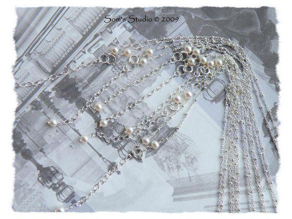 Tmx 1274551710557 CoinPearlPrehniteSmokyQuartzNecklace3 Rochester wedding jewelry